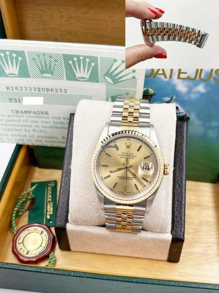 Rolex Datejust 1996 pre-owned