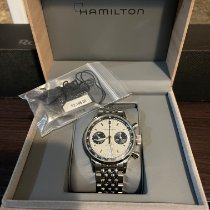 Hamilton Intra-Matic Steel 40mm White No numerals United States of America, New York, New York Manhattan