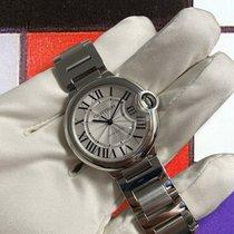 Cartier Ballon Bleu 36mm pre-owned 36mm Silver Steel