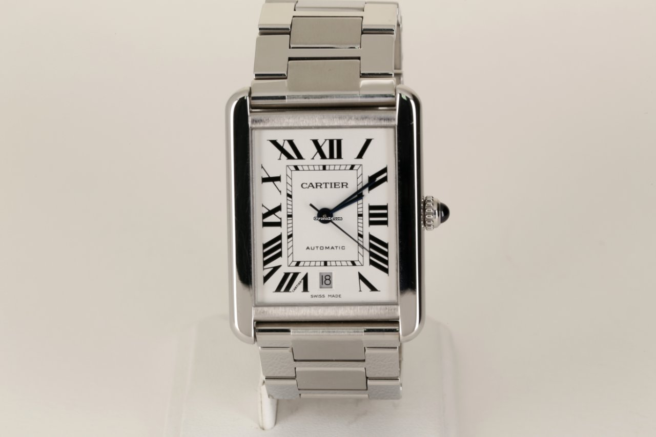 Cartier Tank Solo W5200028 2017 pre-owned