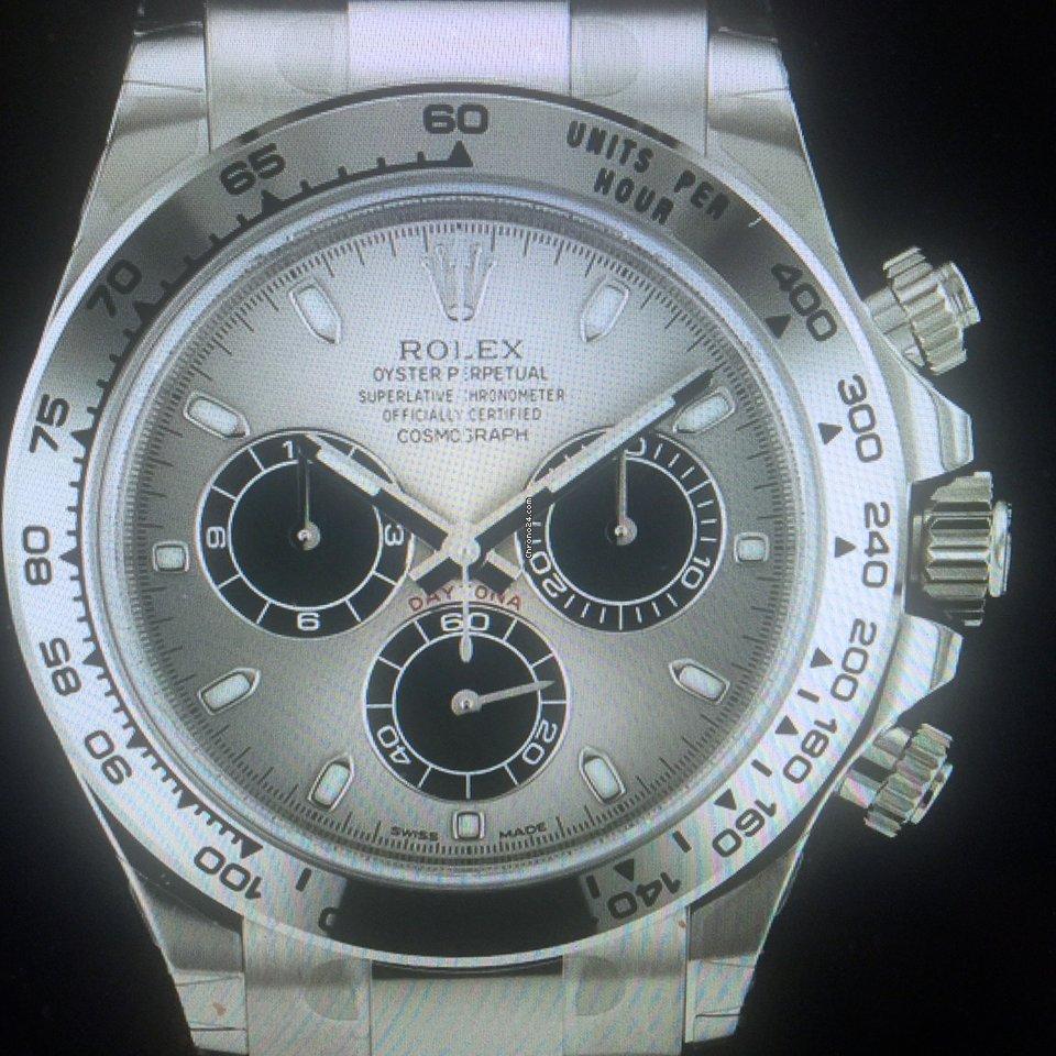Rolex Daytona 116509-0072 Daytona WG mit Panda Zifferblatt 2021 neu