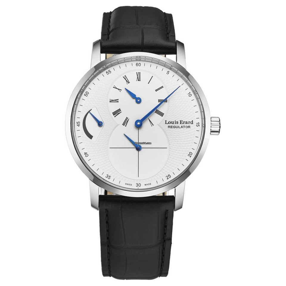 Louis Erard Mens Analogue Automatic Watch 1931 Moon Phase
