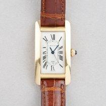 Cartier Tank Américaine Rose gold 23mm White Roman numerals