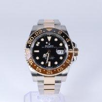 Rolex Gold/Steel 40mm Black No numerals United States of America, New Jersey, HOBOKEN