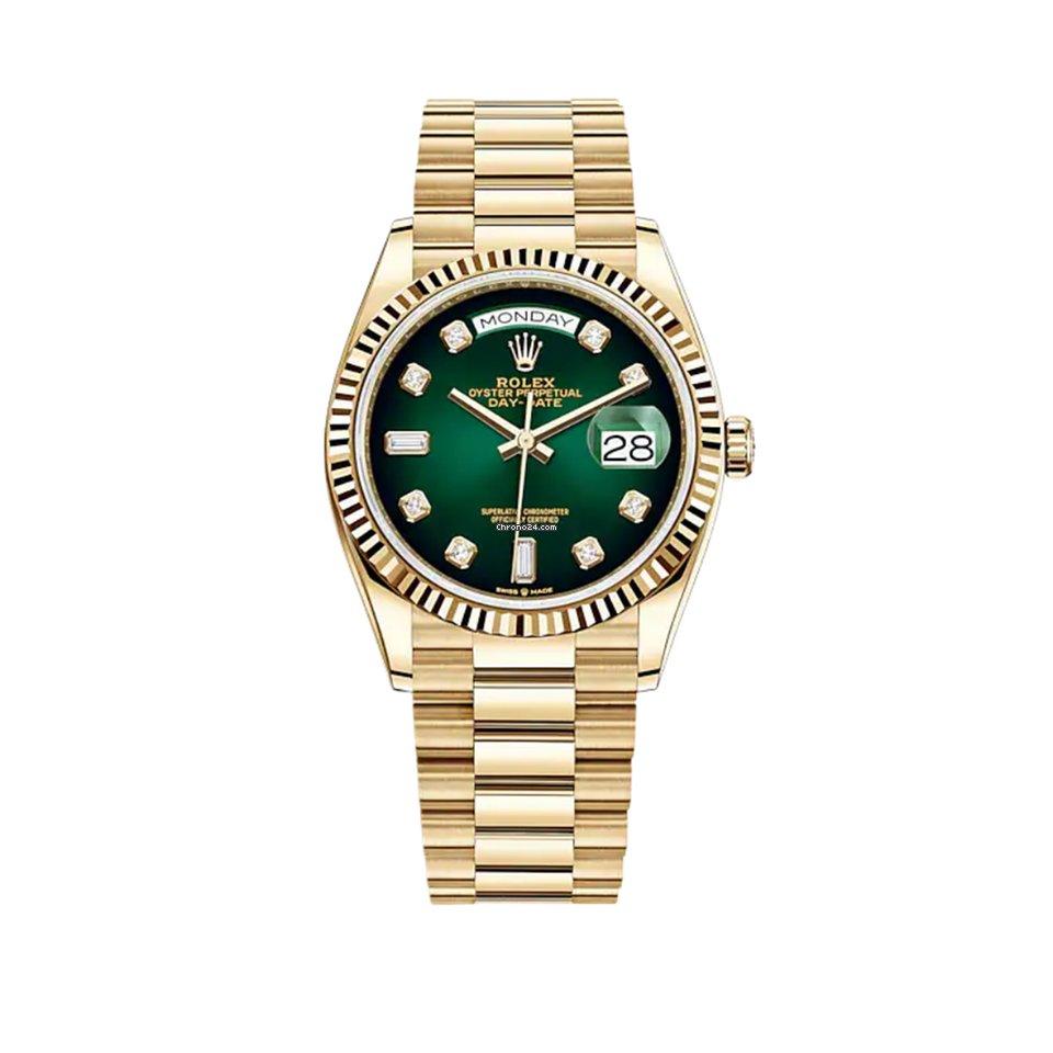 Rolex Day-Date 36 128238 2021 new