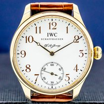 IWC Portuguese Hand-Wound Rose gold 43mm Arabic numerals United States of America, Massachusetts, Boston