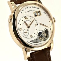 A. Lange & Söhne Lange 1 Rose gold 39.5mm Silver Roman numerals United States of America, New Jersey, Hoboken
