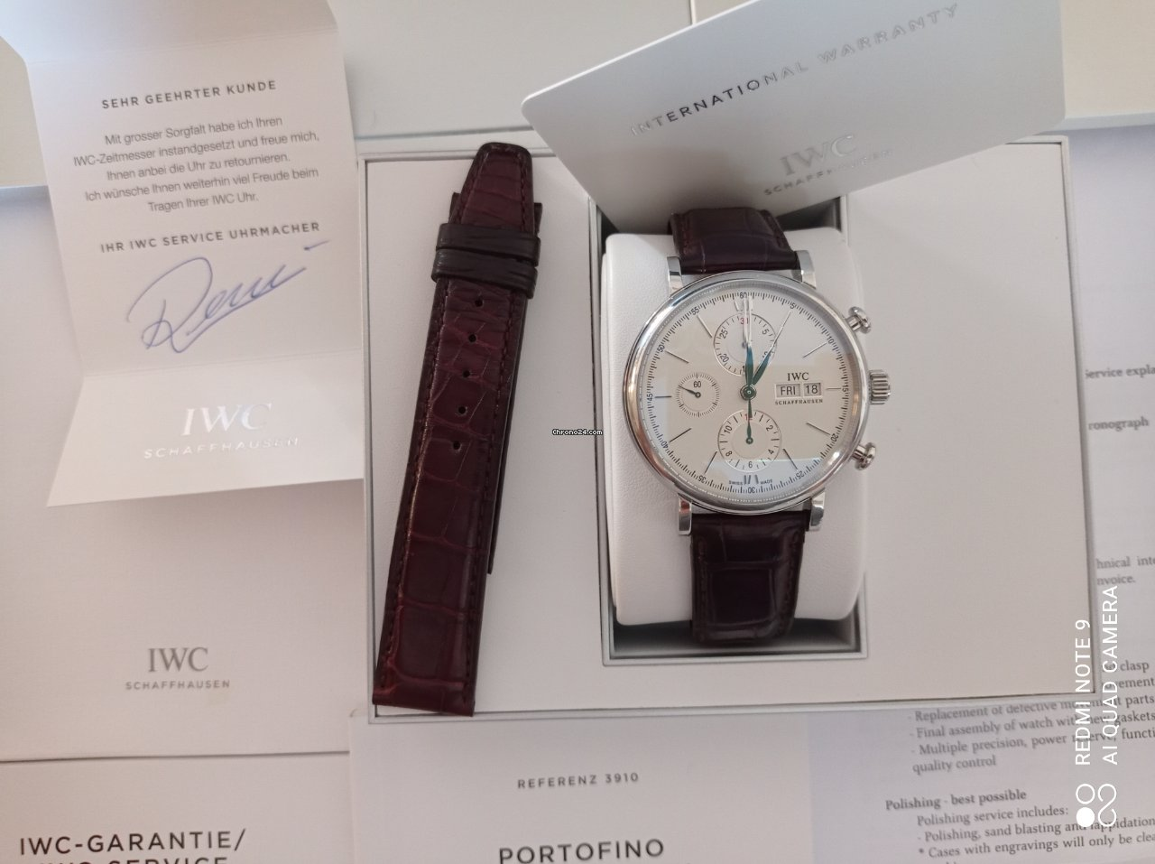 IWC Portofino Chronograph IW391007 2017 pre-owned