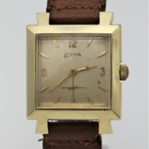 Cyma Yellow gold Manual winding pre-owned