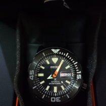 Seiko Prospex Steel 42.4mm Black No numerals Indonesia, Bandung