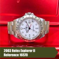 Rolex Explorer II Steel 40mm White No numerals United States of America, Florida, Coral Gables