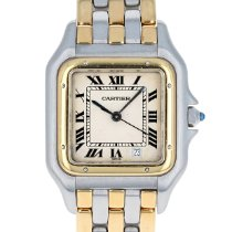 Cartier Panthère Gold/Steel 27mm White Roman numerals United States of America, Massachusetts, Boston