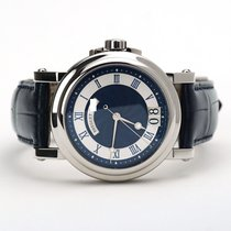 Breguet pre-owned Automatic 39mm Blue Sapphire crystal 10 ATM