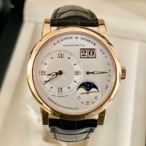 A. Lange & Söhne Lange 1 Rose gold 38.5mm Silver Roman numerals United States of America, New York, Brooklyn