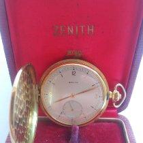 Zenith Pocket watch Geelgoud 1939 45mm tweedehands