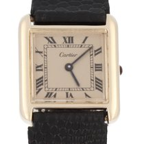 Cartier Silver 26mm Manual winding Vintage Cartier pre-owned