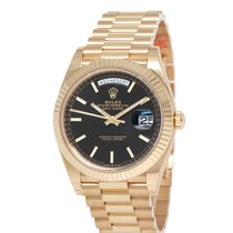 Rolex Day-Date 40 Yellow gold 40mm Black United States of America, New York, Hartsdale