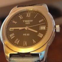 Tissot PR 50 Сталь 36mm Черный Римские