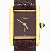Cartier Ezüst 20.5mm Kézi felhúzás Vintage Cartier használt