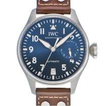 IWC IW500916 Сталь Big Pilot 46.2mm подержанные