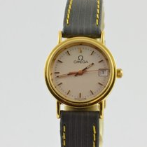 Omega De Ville pre-owned 20mm Leather