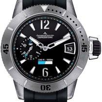 Jaeger-LeCoultre Master Compressor Diving GMT Titanium 44mm Black Arabic numerals