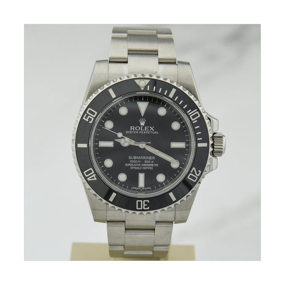 Rolex Submariner (No Date) 114060 2015 tweedehands