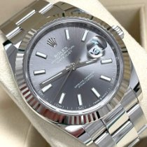 Rolex Datejust Steel 41mm No numerals Australia