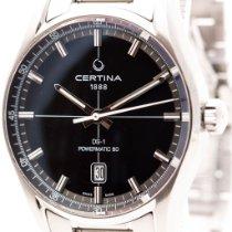 Certina DS-1 Сталь 40mm Черный Без цифр
