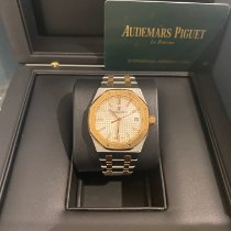 Audemars Piguet 77350SR.OO.1261SR.01 Gold/Steel 2020 Royal Oak Selfwinding 34mm pre-owned