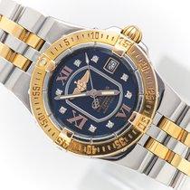 Breitling Galactic 30 Acero y oro 30mm Azul