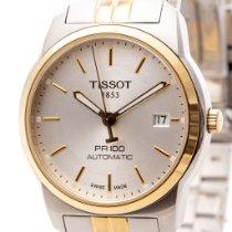 Tissot PR 100 Сталь 38mm Cеребро Без цифр