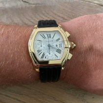 Cartier Roadster new Automatic Chronograph Watch with original box 2619