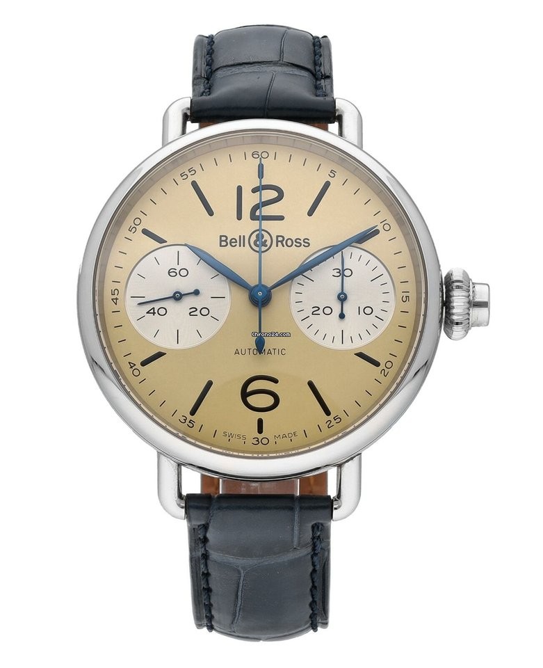Bell & Ross Vintage BRWW1-MONO-IVO/SCR pre-owned