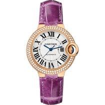 Cartier Ballon Bleu 36mm WJBB0050 Unworn Rose gold 36mm Automatic