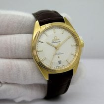 Omega Globemaster Yellow gold 39mm Silver