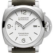 Panerai Luminor Marina Steel 44毫米白色阿拉伯数字美利坚合众国、佛罗里达州、阳光岛海滩