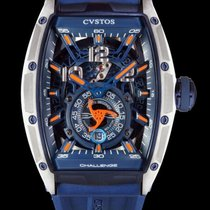 Cvstos new Automatic Skeletonized Small seconds 53.7mm Titanium Sapphire crystal