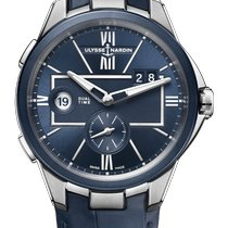 Ulysse Nardin Executive Dual Time 243-20/43 New Steel 42mm Automatic