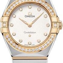 Omega Constellation Ladies new 2021 Quartz Watch with original box and original papers 131.25.28.60.52.002