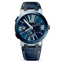 Ulysse Nardin Executive Dual Time 243-00/43 New Steel 43mm Automatic