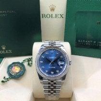 Rolex Datejust Steel 41mm Blue No numerals United States of America, Illinois, Springfield
