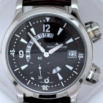 Jaeger-LeCoultre Master Compressor GMT Steel 41mm Black Arabic numerals United States of America, New York, New York