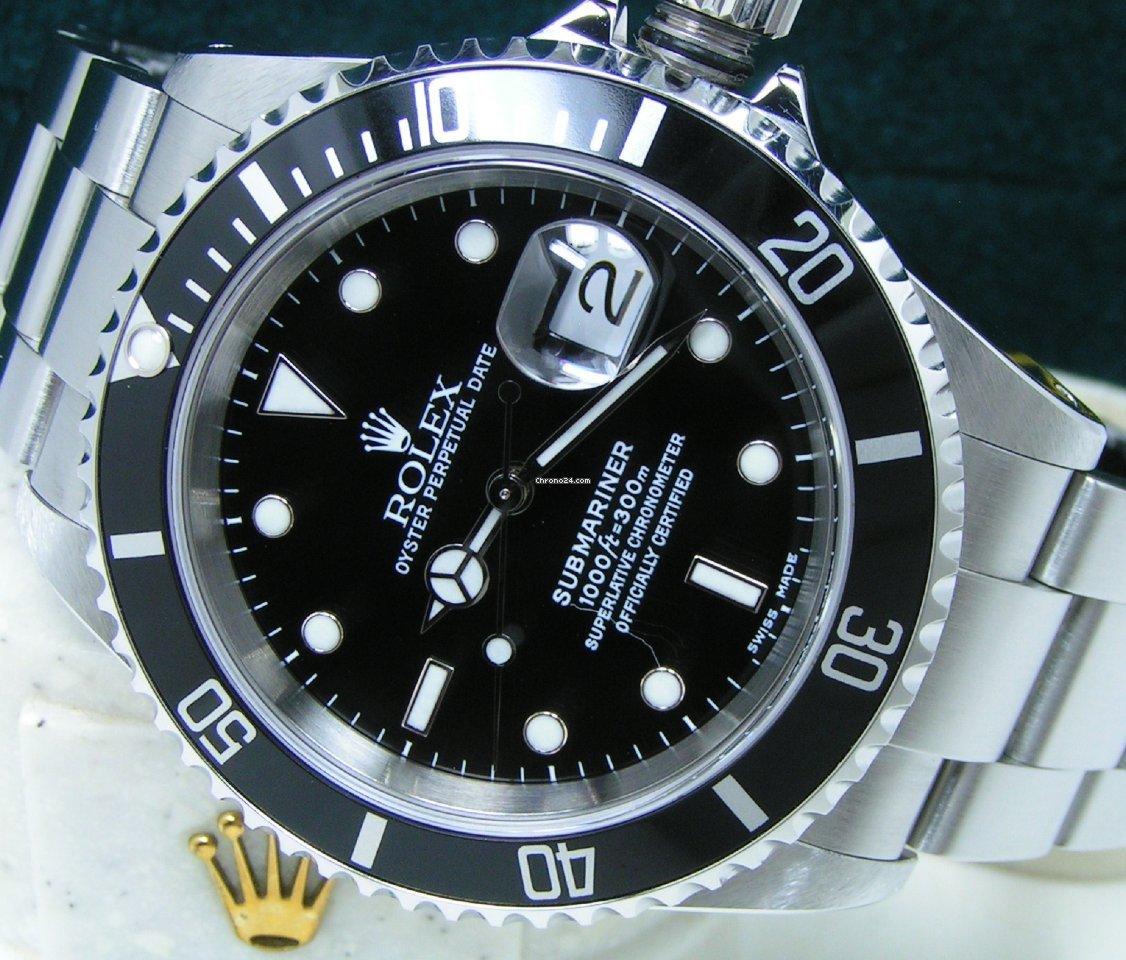 Rolex Submariner Date 16610 2001 new