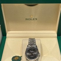Rolex Datejust Steel 36mm Grey No numerals