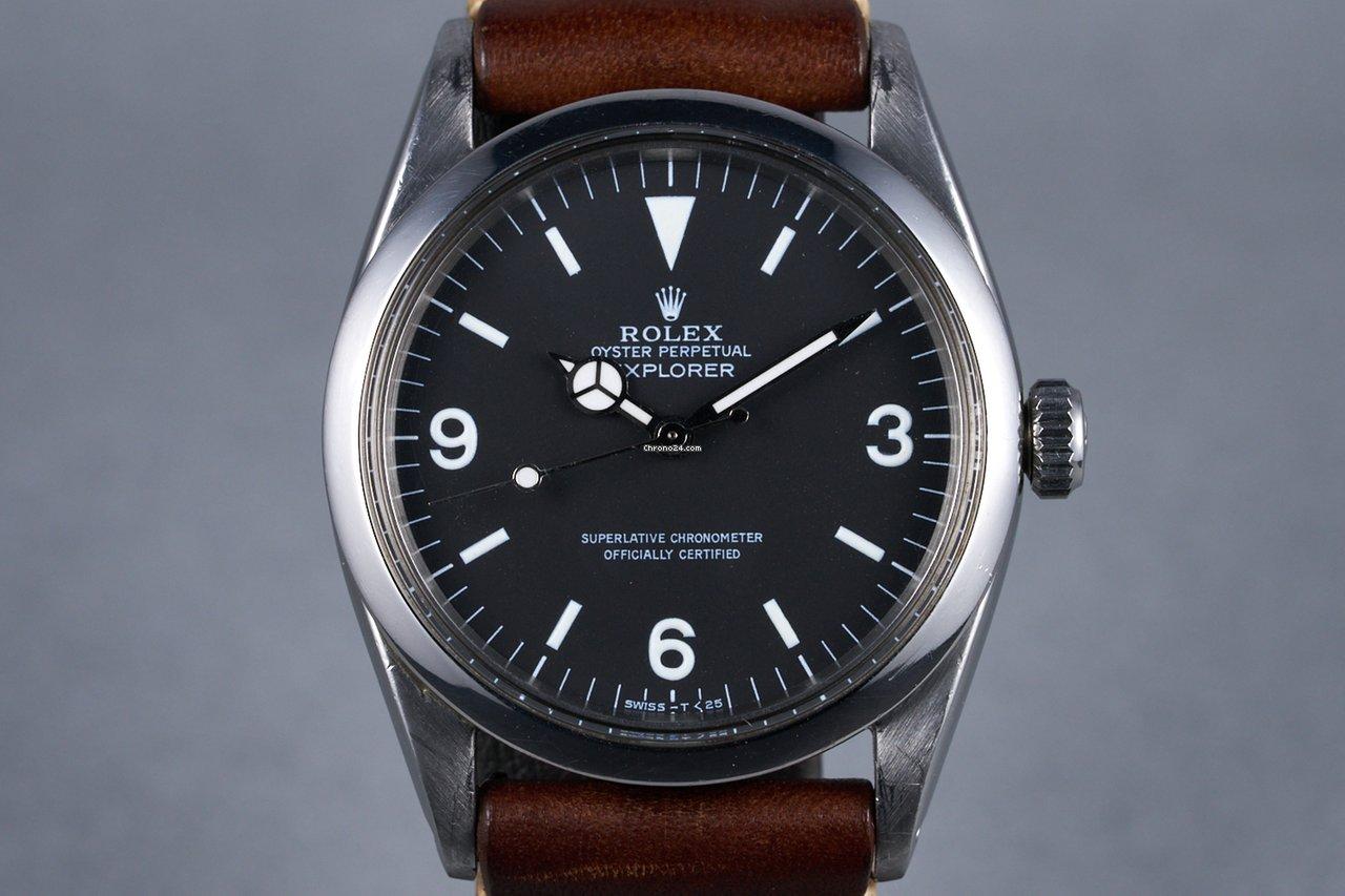 Rolex Explorer 1016 1960 pre-owned