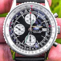 Breitling Old Navitimer Steel 41.5mm Black United States of America, Texas, Plano