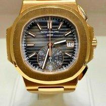 Patek Philippe Rose gold Automatic Black 40mm Nautilus