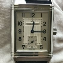 Jaeger-LeCoultre Reverso Grande Taille Steel 42mm Silver Arabic numerals United States of America, New York, New York