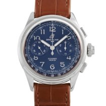 Breitling Duograph Steel 42mm Blue